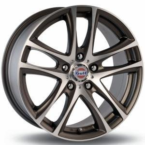Gulf GT1 Gun Metal Polished 6.5x15 4/100 ET35 B67.1