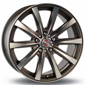 Gulf GT6 Gun Metal Polished 6.5x15 4/100 ET35 B67.1