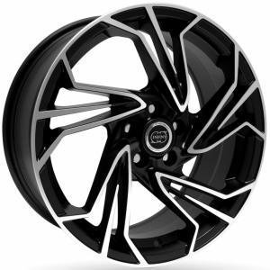 Infiny DS Matt Black Polished 8x19 5/114.3 ET35 B73.1