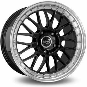 Infiny R1 Light Black Polished 7x16 4/100 ET35 B73.1