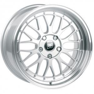 Infiny R1 Silver Polished Lip 9.5x19 5/120 ET42 B74.1