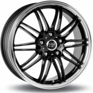 Infiny Shark Black Polished Lip 6.5x15 5/112 ET42 B67.1