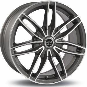 Infiny Tarox Gun Metal Polished 6.5x15 4/100 ET35 B73.1