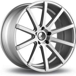 Infiny Individual RS Matt Silver Polished 8.5x20 5/112 ET42 B66.5