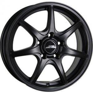 Inter Action Ice Matt Black Polished 6.5x16 4/100 ET40 B73.1