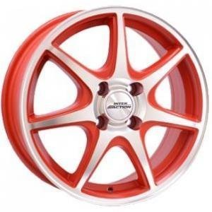 Inter Action Ice Matt Red 6x15 4/100 ET40 B73.1