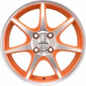 Inter Action Ice Matt Orange 6x15 4/100 ET40 B73.1