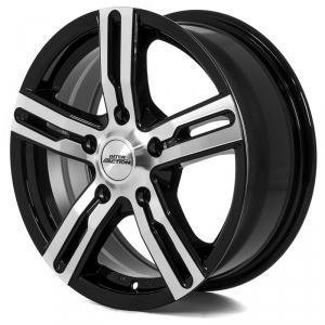 Inter Action Kargin Black Polished 7.5x17 5/114.3 ET45 B66.1