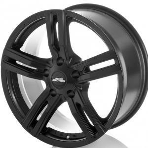 Inter Action Kargin Matt Black 7.5x17 5/112 ET45 B66.6