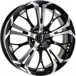 Inter Action Poison Black Polished 7x17 4/100 ET35 B73.1