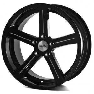 Inter Action Racing Black Polished 8.5x19 5/120 ET15 B74.1
