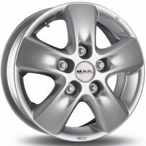 Mak HD!2 Hyper Silver 6.5x15 5/118 ET65 B71.1