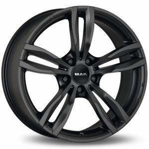 Mak Luft Matt Black 8x17 5/120 ET34 B72.6