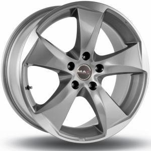 Mak Raptor5 Gun Metal Polished 8x18 5/108 ET45 B63.4