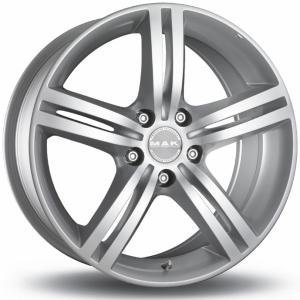 Mak Veloce Silver 5.5x15 5/114.3 ET47 B67.1