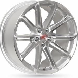 Mille Miglia 1007 Silver 8.5x19 5/120 ET33 B79.5