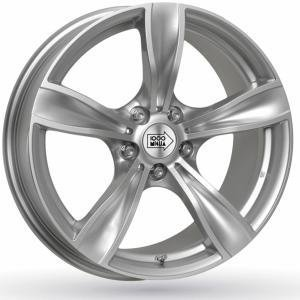 Mille Miglia MM033 Silver 8x18 5/120 ET30 B72.6