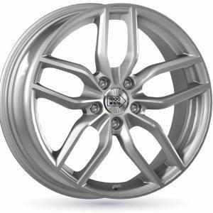Mille Miglia MM039 Silver 7.5x17 5/112 ET37 B66.4