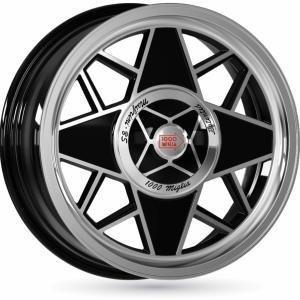 Mille Miglia MM500 Black Polished 6.5x16 4/098 ET35 B58.1