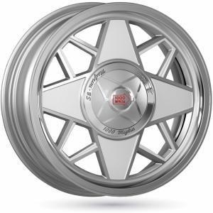 Mille Miglia MM500 Silver 6.5x16 4/098 ET35 B58.1
