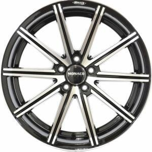 Monaco Finish Black Polished 8x18 5/108 ET45 B63.4