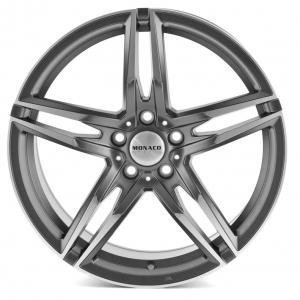 Monaco Grand Prix Anthracite Polished 8x18 5/120 ET34 B72.6