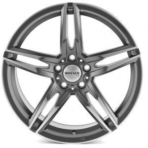 Monaco Grand Prix Matt Anthracite Polished 7.5x17 5/108 ET45 B63.4