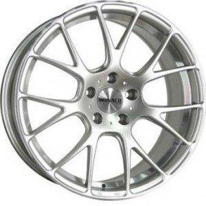 Monaco Mirabeau Silver 7x17 4/108 ET25 B65.1