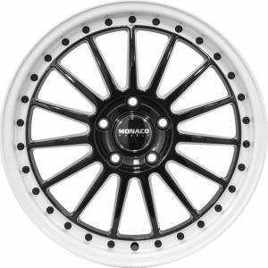 Monaco Paddock Black White 8x18 5/108 ET45 B63.3