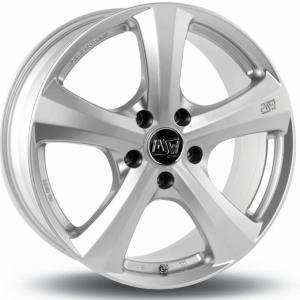 MSW 19 Silver 6.5x15 4/100 ET38 B63.3