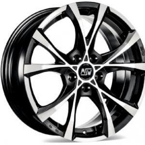 MSW Cross Over Black Polished 8x18 5/120 ET29 B72.6