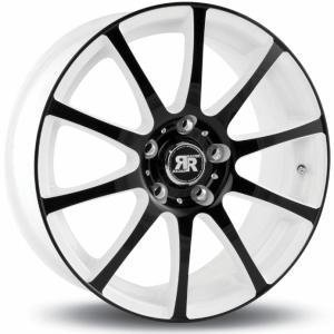 Racer Axis White and Black 6.5x15 4/108 ET25 B67.1