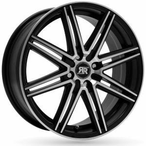 Racer Cross Black Polished 6.5x15 5/108 ET35 B73.1