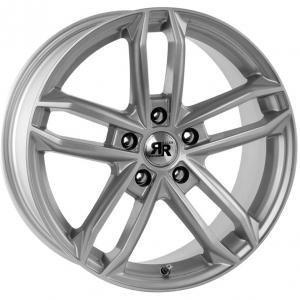 Racer Dark Silver 7.5x17 5/108 ET35 B67.1