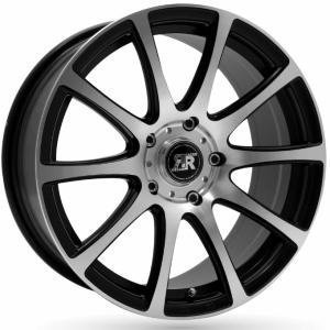 Racer Evo Matt Black Polished 6x14 4/100 ET35 B73.1