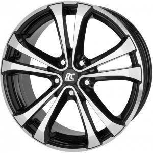 RC Design RC17 Black Polished 7.5x17 4/100 ET35 B63.4
