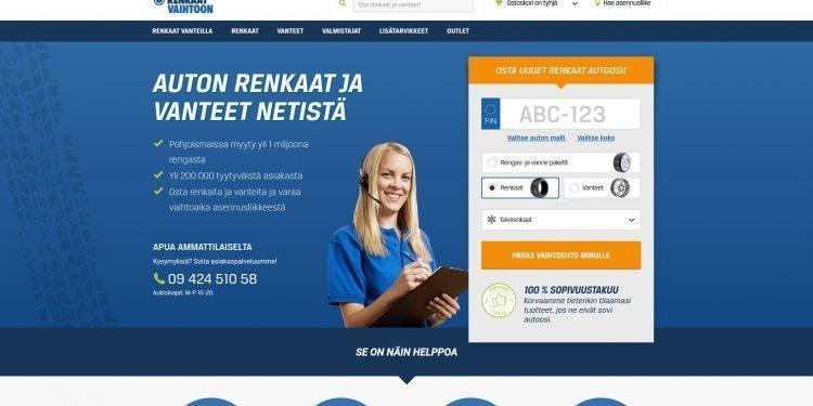 Renkaatvaihtoon.fi