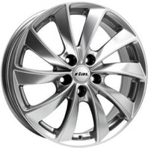 Rial Lugano Silver 6.5x16 4/100 ET40 B63.4