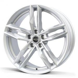 Rosso RR8 Silver 7.5x17 5/098 ET35 B58.1