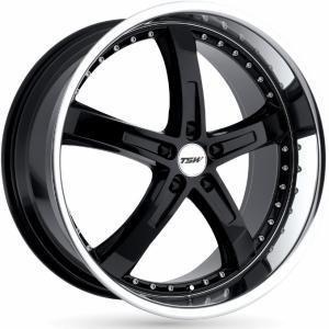 TSW Jarama Gloss Black 8x17 5/100 ET35 B72