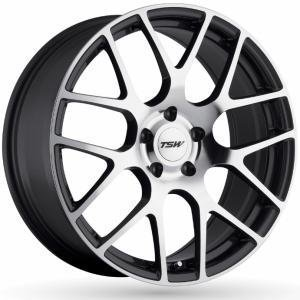 TSW Nurburgring Gun Metal Polished 8x17 5/100 ET35 B72