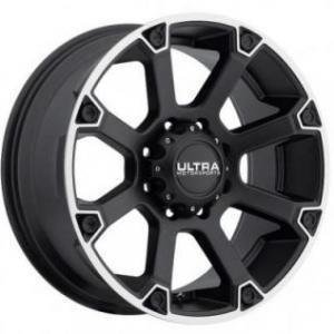 Ultra Spline Matt Black Polished 9x20 5/150 ET25 B110.1