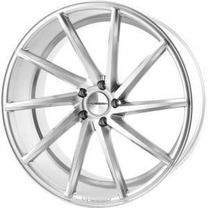 Vossen CVT Metallic Glossy Silver 10x19 5/100 ET50 B73.1
